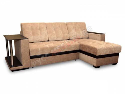 Угловой диван «Атланта» (вельвет люкс 22)
