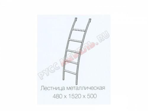 Лестница металлическая «Радуга»