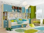 Детская комната «Радуга» (комплект 1)