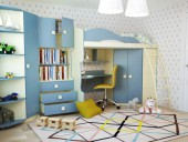 Детская комната «Радуга» композиция 4