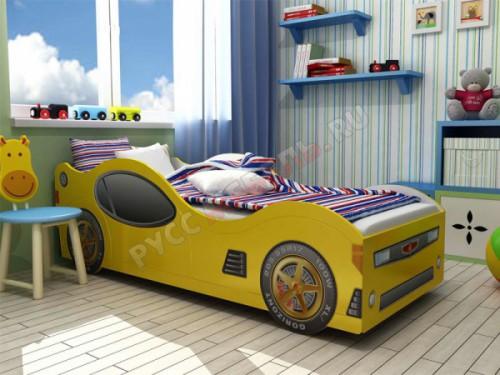 Кровать-машина детская «Ягуар»
