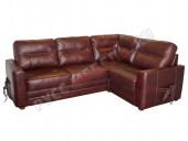 Кожаный угловой диван «Беллино» (кожа Eichel)