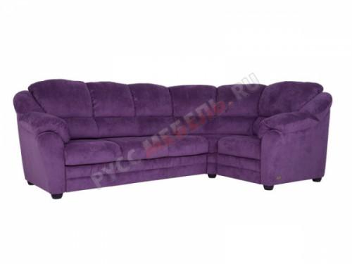 Угловой диван «Берг» (Velvet Lux 32)