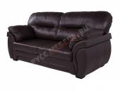 Кожаный диван 3-ка «Бристоль» (кожа Mocca)