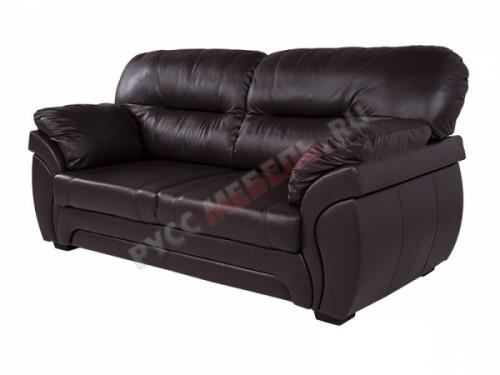 Бристоль кожаный диван: