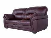 Кожаный диван 3-ка «Бристоль» (кожа Oxblood)