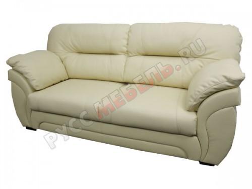 Кожаный диван 3-ка «Бристоль» (кожа Panna)