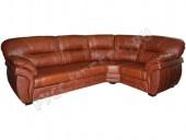 Кожаный угловой диван «Бристоль» (кожа Madras)