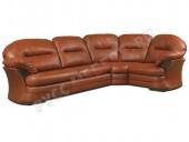 Кожаный угловой диван «Брюссель»