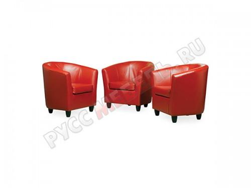 Кожаное кресло для отдыха «Сити»