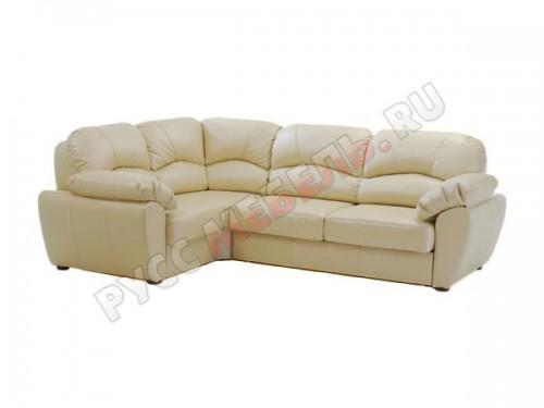 Кожаный угловой диван «Эвита»: