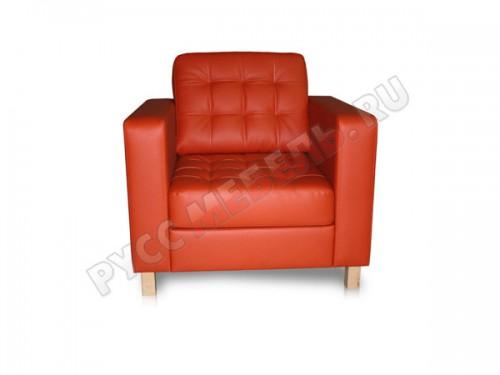 Кресло из натуральной кожи Камелот: