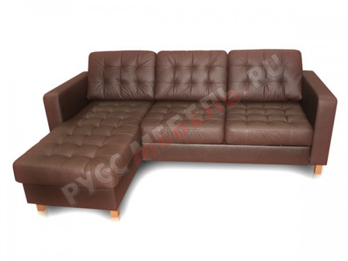 Кожаный угловой диван «Камелот»