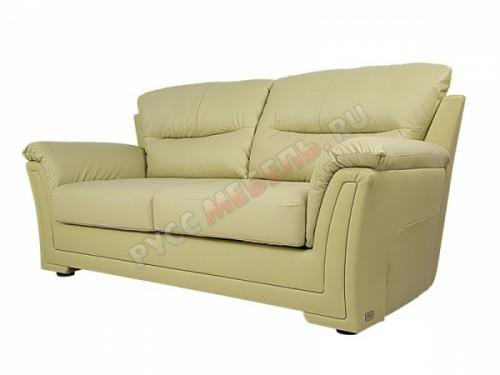 Кожаный диван 3-ка «Ливерпуль» (кожа Phistachio)