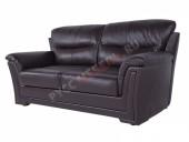 Кожаный диван 3-ка «Ливерпуль» (кожа Mocca)