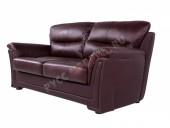 Кожаный диван 3-ка «Ливерпуль» (кожа Oxblood)