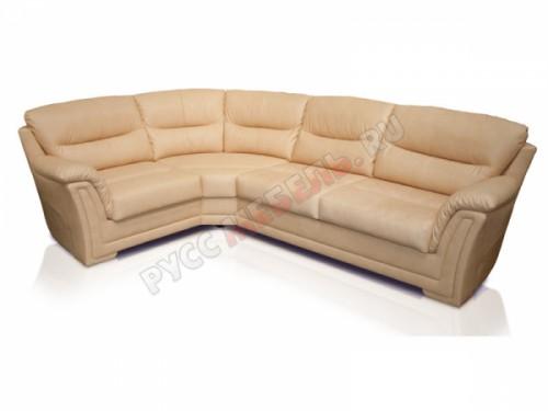 Кожаный угловой диван «Ливерпуль»
