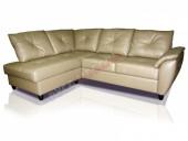 Кожаный угловой диван «Николь»
