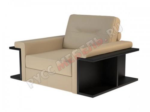 Кожаное кресло «Оксфорд» (кожа Мадрас Дюна)