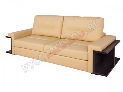 Кожаный диван «Оксфорд» (кожа Белладжио Крем)
