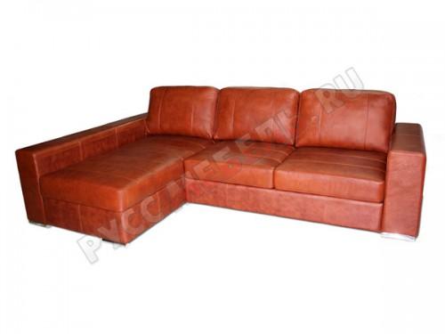 Кожаный угловой диван «Ричард»