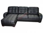 Кожаный угловой диван «Сидней» (с канапе)