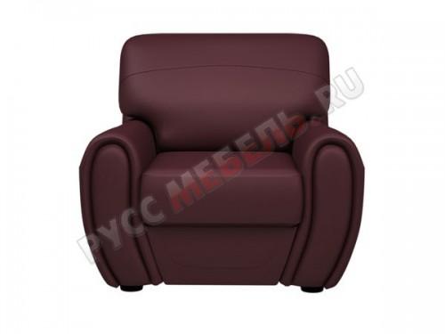 Кожаное кресло «Верона» (кожа Мадрас Оксблуд)