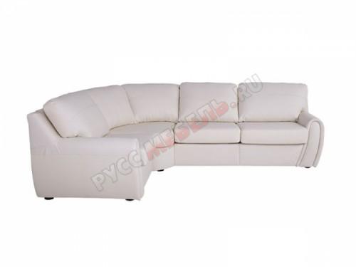 Кожаный угловой диван Верона: