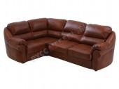 Кожаный угловой диван «Вестон» (кожа Eichel)