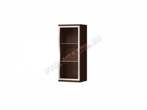 Гостиная «Домино» шкаф настенный со стеклом ДМ-32