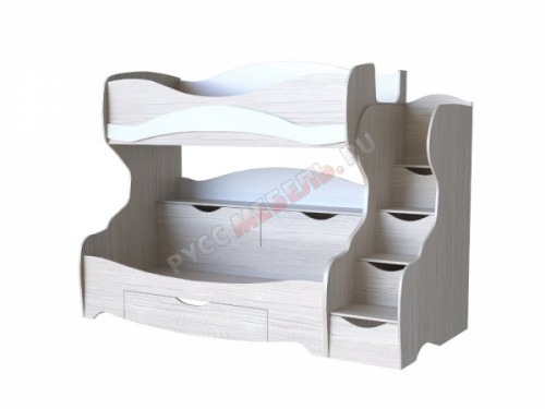 Детская «Карамель» кровать двухъярусная КА-03