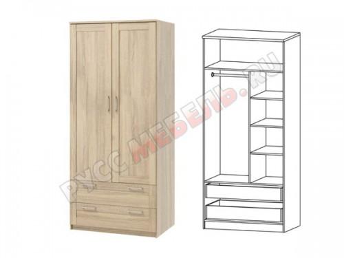 Сэндай С-26 шкаф комбинированный глубокий с ящиками