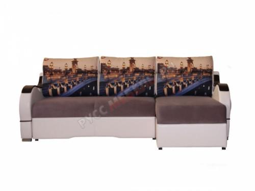 Угловой диван тик-так Вика-13: