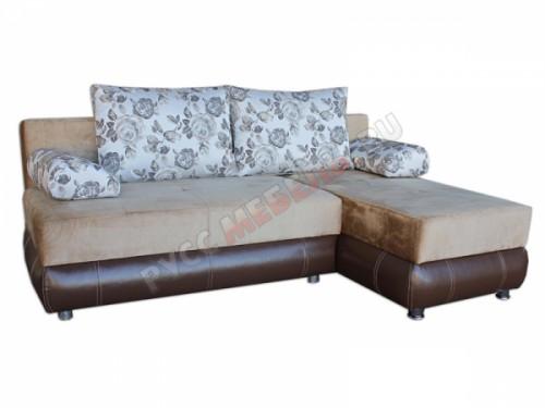 Угловой диван еврокнижка «Вика-11» (правый, на заказ)