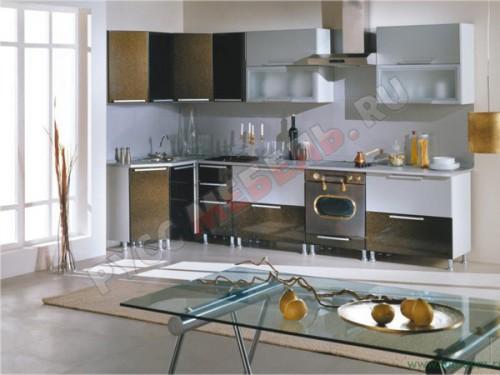Кухня модульная «Анастасия Тип 3 хамелеон»