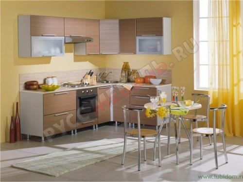 Кухня модульная «Анастасия Тип 3 штрокс»