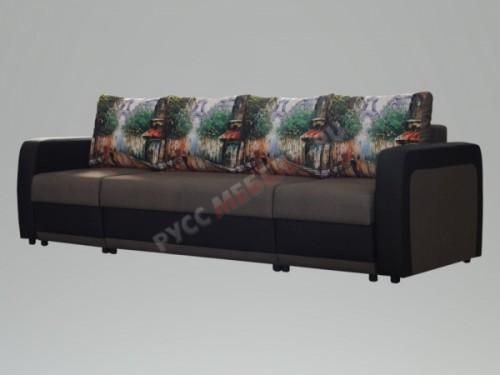 Угловой П-образный диван тик-так «Олимп»