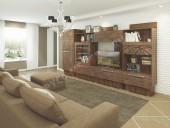 Модульная гостиная «Адель» (комплект 3)