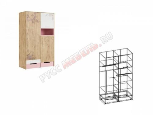 Шкаф для одежды «Дублин Роуз № 10»