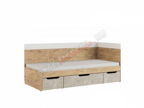 Кровать 0,9 «Дублин Стоун № 1»
