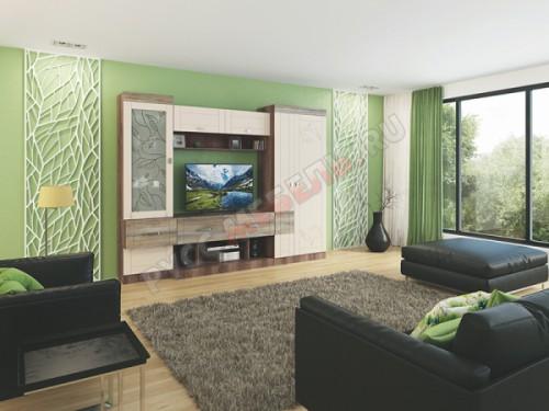 Модульная гостиная «Изабель» (комплект 4)