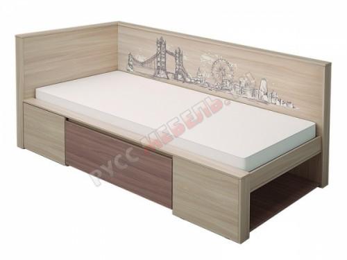 Кровать «Город» № 1 (80 х 200)