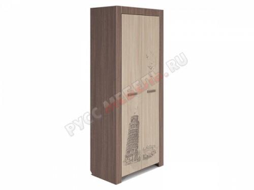 Шкаф для одежды «Город» № 9