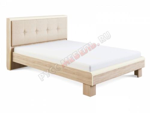 Кровать «Оливия №2» (140х200) с мягкой спинкой