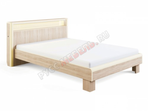 Кровать «Оливия №3» (140х200) с подсветкой