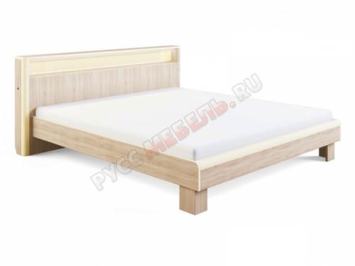 Кровать «Оливия №3» (160х200) с подсветкой