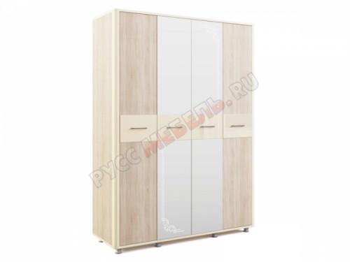 Шкаф четырёхдверный «Оливия № 14»