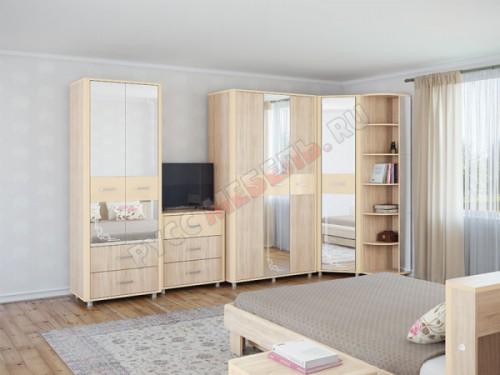 Модульная спальня «Оливия» (комплектация 3)