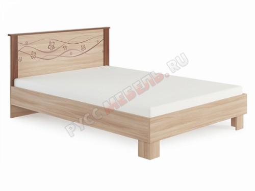 Кровать «Сальвия №1.1» (80х200) с жёстким изголовьем