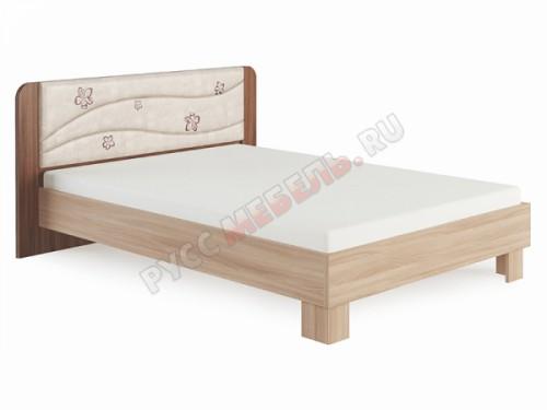 Кровать «Сальвия № 2.2» (160х200) с мягким изголовьем